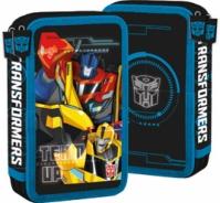 Penar Scoala Echipat Dublu(2 Compartimente) Baieti Transformers