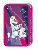 Penar Scoala Echipat Triplu (3 Compartimente) Fete Disney Frozen