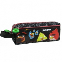 Penar Scoala Neechipat Dublu(2 Compartimente) Angry Birds