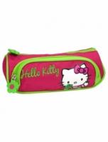 Penar Scoala Neechipat Dublu(2 Compartimente) Fete Hello Kitty