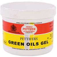 Gel Pettifers verde Oils