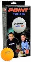 Set 8 Mingi Ping Pong POINT TACTIC portocaliu / Stiga