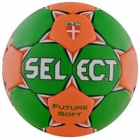 Minge de handbal Select FUTURE SOFT LILIPUT 1 verde / portocaliu