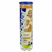 Set 4 Mingi tenis teren BABOLAT GOLD / copii