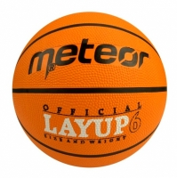 Mingi de Baschet METEOR LAYUP portocaliu roz 6/7054