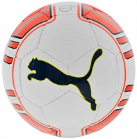 Minge fotbal PUMA EVO POWER LITE 350g alb / portocaliu fluo 82226 01