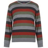 Pierre Cardin cu dungi cu decolteu in V tricot pentru Barbati