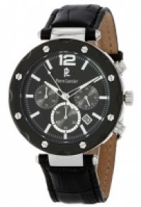 Pierre Lannier Watches -collection Chronograph - Stainless Steel - din piele - 42 Mm