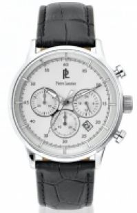Pierre Lannier Watches Mod Chrono Ssteelleather 22mm Miyota 44mm 5 Atm