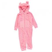 Pijama salopeta Essentials Neon Child pentru fete
