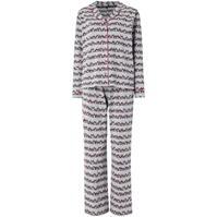 Pijamale Biba Panda aop jersey revere