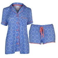 Pijamale Full Circle Button pentru Femei
