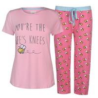 Pijamale Full Circle Meadow Bee pentru Femei