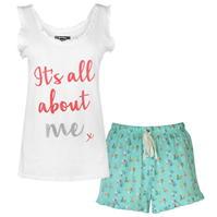 Pijamale Golddigga Frill Vest pentru Femei