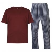 Pijamale Howick Howick cu dungi Tartan pentru Barbati