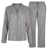 Pijamale Maison De Nimes Collar Revere Raccoon pentru femei