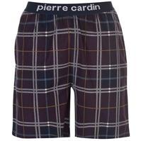 Pierre Cardin Yarn Dye Check Lounge Short pentru Barbati