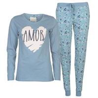 Pijamale Rock and Rags cu maneca lunga