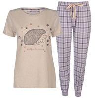 Pijamale Rock and Rags cu Maneca Scurta pentru Femei