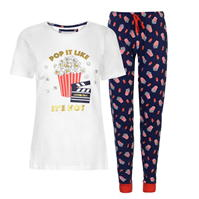 Pijamale Rock and Rags Fun Print