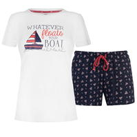 Pijamale Rock and Rags Sail Short