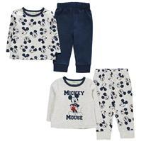 Pijamale Set 2 pentru Bebelusi cu personaje
