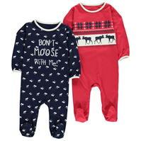 Pijamale Set Crafted of 2 pentru baieti pentru Bebelusi