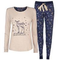 Pijamale SoulCal Jersey pentru Femei