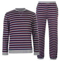 Pijamale SoulCal Jersey cu dungi pentru Barbati
