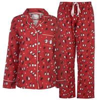 Pijamale Spiritul Craciunului Button pentru Femei