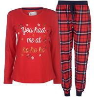 Pijamale Spiritul Craciunului Fleecy pentru Femei