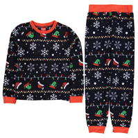 Pijamale Craciun Family pentru copii