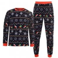 Pijamale Craciun Fairisle pentru adulti