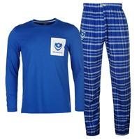 Pijamale Team Portsmouth in carouri pentru Barbati
