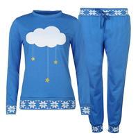 Pijamale Miso Rib Cuff pentru Femei