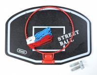 Cos baschet Small KIMET STREET BALL alb