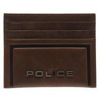 Police Metal Credit Card Case
