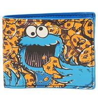 Portofel Sesame Street Cookie Monster cu personaje