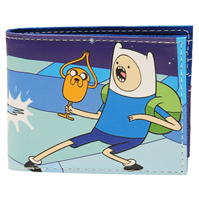 Portofel Adventure Time Finn And Jake cu personaje