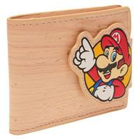 Portofel Nintendo Wood Effect cu personaje