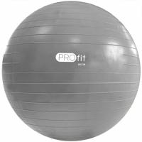 Minge fitness PROFIT 85cm silver
