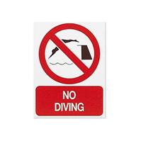 Foamex Prohibit Sign