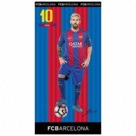 Prosop De Baie Sau Plaja 75x150cm Leo Messi Fc Barcelona