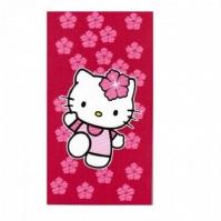 Prosop De Plaja 100cm X 180cm Ibiscus Hello Kitty