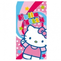 Prosop De Plaja Stars Hello Kitty 75 X 150cm