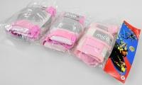 Genunchiere MICO CR-600 roz