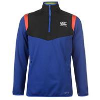 Pulover Bluze cu fermoar Canterbury Quarter Rugby antrenament pentru Barbati