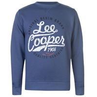 Pulover Lee Cooper Crew Logo pentru Barbati