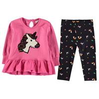 Pulover Rochie Set bebelusi Crafted Essentials 2 Piece pentru fete