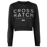 Pulover scurt Crosshatch Clio pentru Femei